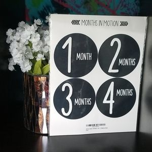 Baby Months in Motion Stickers